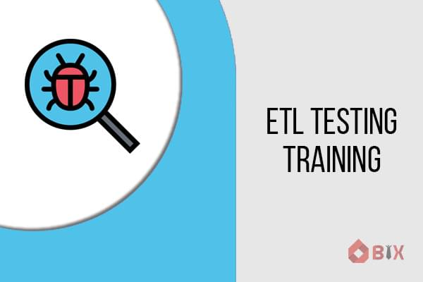ETL(Extract Transform and Load) Testing